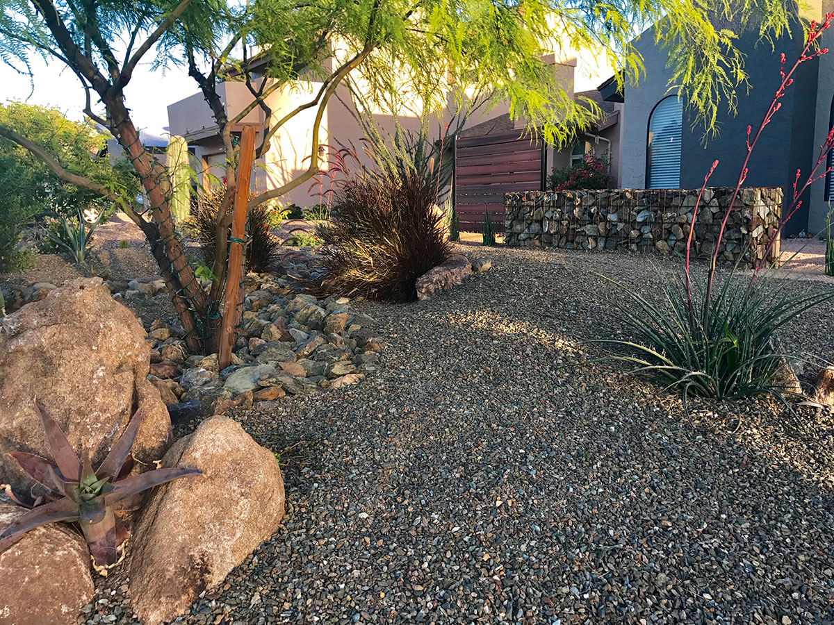 How much landscaping rock do I need? | MDI Rock on Rocks In Backyard  id=74023