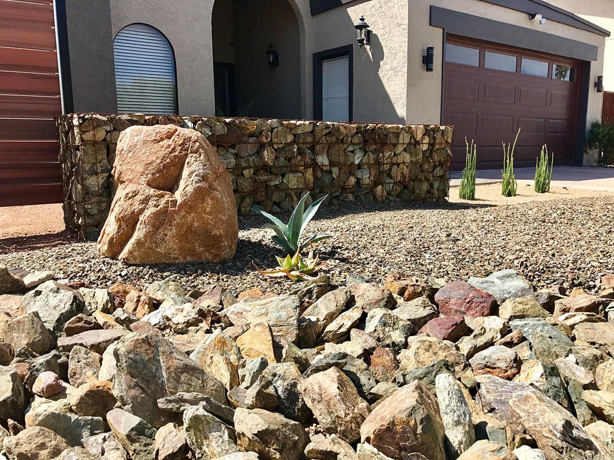 Rock Color For Your Desert Landscape