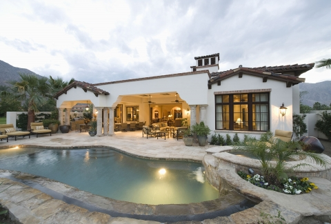 What Is the Best Rock Landscaping for a Backyard with a Pool?